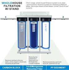 Natural water filter system Iron Removal Manganese Filter For Well Water Stage Whole House With Shorten Manganese Dioxide Water Filter Ebay Manganese Filter For Well Water Stage Whole House With Shorten