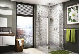 Door Corner Decorations Bathroom Exciting Bathroom Design Ideas With Round Corner Glass