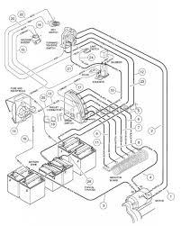 48 volt club car wiring diagram color code wires columbia par car