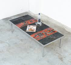 large tile coffee table by pia manu 1960s