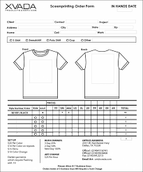 Sample Of Order Form Template It Work Order Template And Awesome Sample T Shirt Order Form