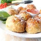 meatballs in cheese pastry