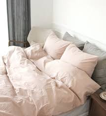 blush pink duvet cover pale pink sheets with gray pillows blush pink bedding sets