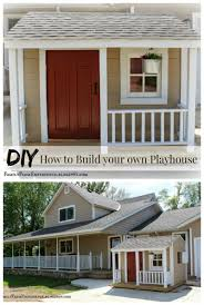 complete instructions from framing to rafters for building a playhouse