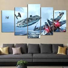 short wide wall art