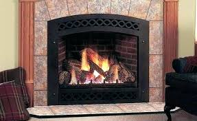non vented gas logs home depot fireplace propane s vent free reviews vs blower
