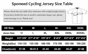 Cycling Jersey Size Chart Details About Cycling Jersey Short Sleeve Men Cycle Shirt Short Sleeve Bicycle Sportswear Tops