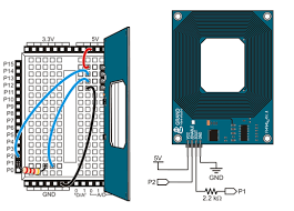 rfid reader learn parallax com build the rfid reader circuit following the wiring diagram and schematic below