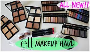 new elf makeup haul 6 contour kit palettes more