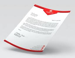 Psd Letterhead Template Template Letterhead Template Psd Stationery Templates For Design 5