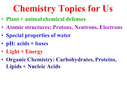 chemistry topics co chemistry topics