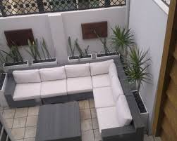 Courtyard Design Ideas Example Of A Small Trendy Patio Design In Perth