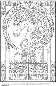 Dover Publications Creative Haven Art Nouveau