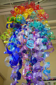 recycled plastic bottle chandelier mobile recycling plastic bottles creative and clever with plastic part 15