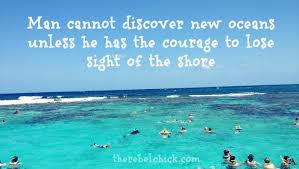 Discovery Quotes Simple Quotes About Discovery Inspired By The Ocean The Rebel Chick