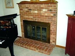 fireplace doors glass how to replace fireplace doors fix can you glass in within replacement prepare