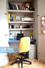 hidden office desk. Office In A Cupboard Hidden Desk Ikea Hack