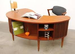 mid century modern office desk. retro home danish modern tibergaard nielsen teak desk mid century if i had an office this would be my
