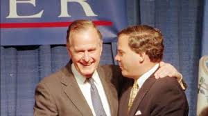 Before reaching the oil fields of Texas and the Oval Office, George Bush  was a 'man of Greenwich' - Hartford Courant