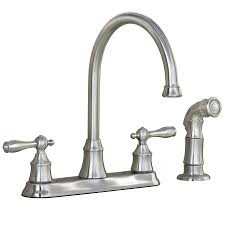 Kitchen Faucets For Kitchen Stainless Steel Kitchen Faucets Lowes For Elegant Kitchen