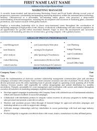 Brand Manager Resume Sample Best Of Sales And Marketing Resume Samples Resume Sample 24 Senior Sales
