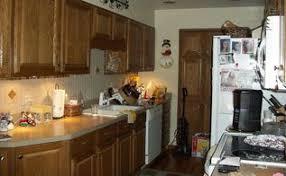 Q Paint Color For Small Galley Kitchen Oak Cabinets Flooring, Home Decor,  Kitchen Backsplash ...