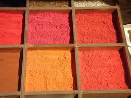 Red Orange Colour Chart Red Shade Orange Pigment Enhances Colour Range