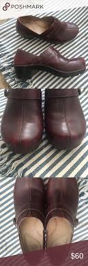 Dansko Solstice Brown Leather Clog Size 37 Size 37 6 5 7