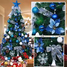 Christmas Tree Decorating Ideas  Christmas Tree Holidays And Blue Christmas Tree Ideas