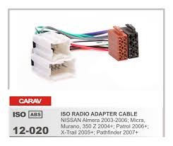 popular nissan murano radio wiring harness buy cheap nissan murano carav12 020 car iso radio plug for nissan almera micra murano 350z patrol x