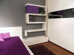 contemporary white acrylic wall shelf for bbok storage attched on gray painted wall endearing bedroom acrylic bedroom furniture