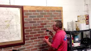 masonry cosmetics how to apply stain to brick practicing with water you