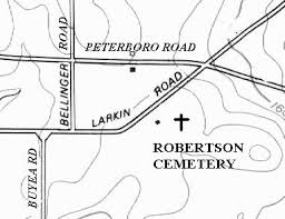 Robertson Cemetery, Town of Fenner, Madison County, NY