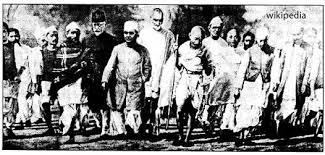 modern history since dandi march