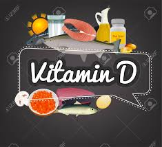 Vitamin Graphic Design Vitamin D Banner Beautiful Vector Illustration With Caption