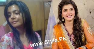 facebook famous celebrities beautiful five bollywood top 13 stani celebrities with and without makeup 4