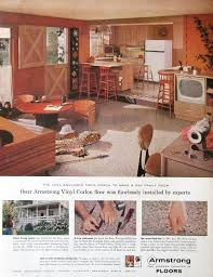 Country Kitchen Design Awesome 48 Armstrong Vinyl Floor Ad 48s Country Kitchen Design Etsy
