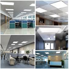12w 48w high bright led flat panel downlight slim drop ceiling light office lamp