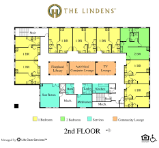 Assisted Living Floor Plans  Fairwood Retirement VillageAssisted Living Floor Plan