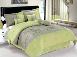 casual bedroom decor lime green and gray bedding com throughout comforter sets design 8 light baby