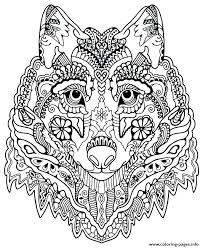 Animal Mandala Coloring Pages For Adults At Getcoloringscom Free