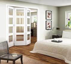 jeld wen room fold 3 door shaker 4 light clear glazed internal doors