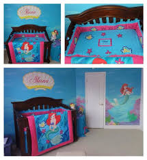 little mermaid baby crib bedding set designs