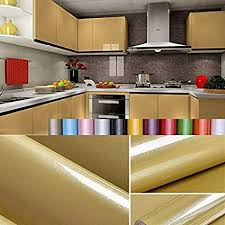 Sticky paper for furniture High Gloss Liveinu Wall Sticker Contact Paper Waterproof Self Adhesive Kitchen Wallpaper Rolls Stickers For Cupboard Furniture Wardrobe Sumisasclub Amazoncom Liveinu Wall Sticker Contact Paper Waterproof Self