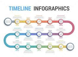 Resume Infographic Timeline Infographics Graphicriver