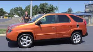 Here's Why the Ugly Pontiac Aztek Is Becoming Cool - YouTube