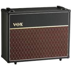 2x12 Bass Cabinet Vox V212c 2x12 Extension Cab For Ac15ch And Ac30ch And More