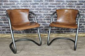 industrial style office chair. Incredible Industrial Arm Chair With Style Leather And Steel Armchair Office Unique S