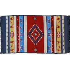 omfalos traditional rug blue multi