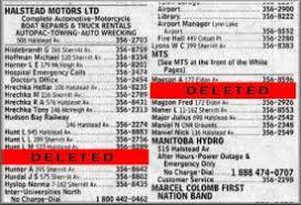 Telephone Listing Remove Phone Listing